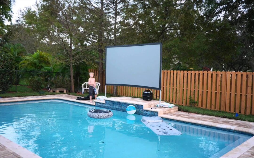 backyard theater system – Perfect for Summer Movie Nights